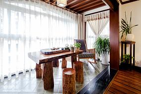 中式阳台装饰