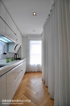 精美120平米现代复式厨房装修图