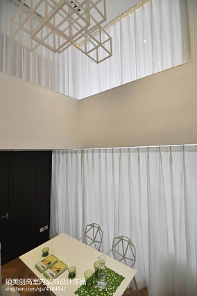 复式餐厅现代装修实景图片大全