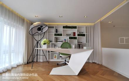 2017现代家装书房效果图