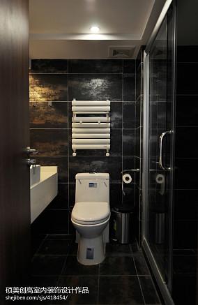 精选现代复式卫生间欣赏图