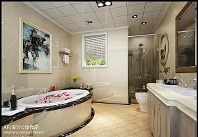 复古个性卧室装修效果图