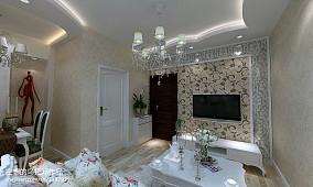 精选欧式小户型客厅装修图