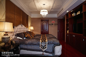 热门116平米四居卧室东南亚装修设计效果图片