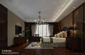 2018103平米三居卧室新古典装修实景图片欣赏