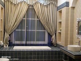 哥特酒店陶瓷风卫生间飘窗设计图片大全