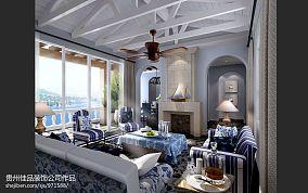 欧式别墅装修样板房楼梯设计