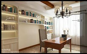 精美二居书房美式装修图