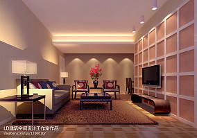 地中海风格80平两室两厅装修图