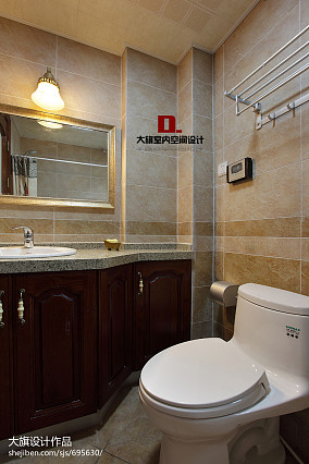 混搭风格卫生间比例浴室装修效果图