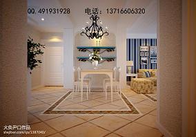 创意风格两室两厅客厅装修效果图