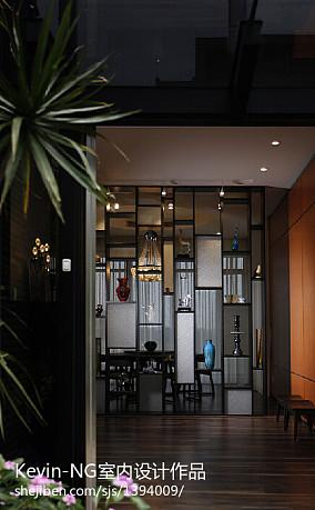 热门面积125平别墅玄关现代装修效果图片欣赏