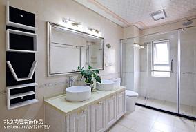 精选117平米欧式别墅卫生间效果图
