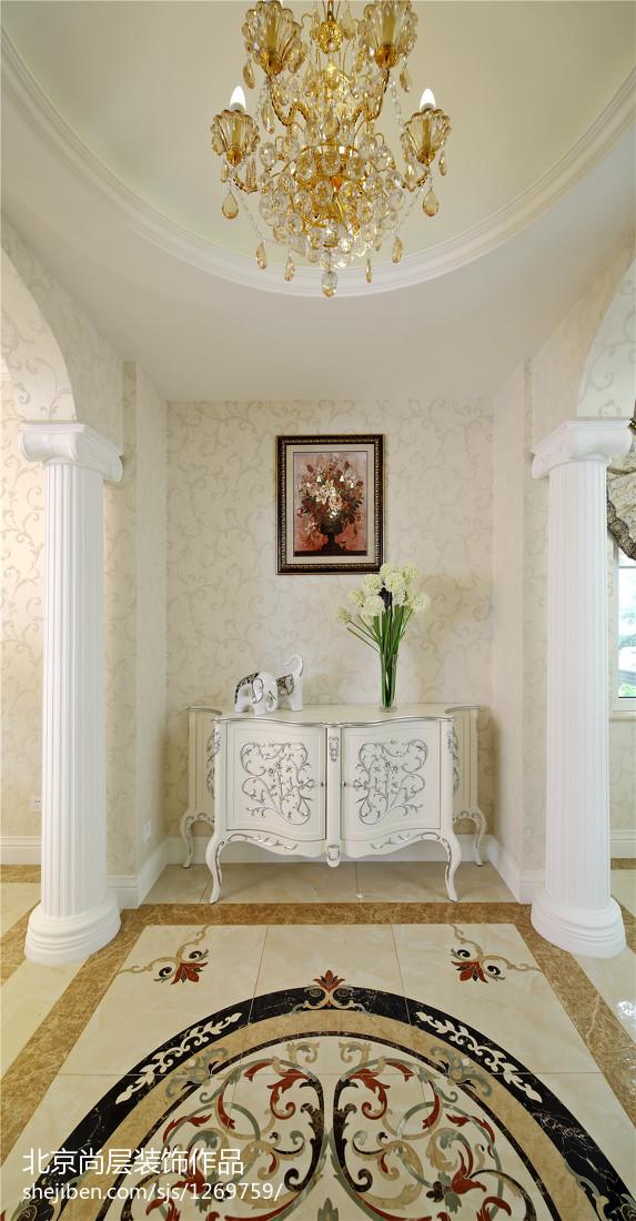 精选110平米欧式别墅玄关装饰图片欣赏卧室欧式豪华卧室设计图片赏析