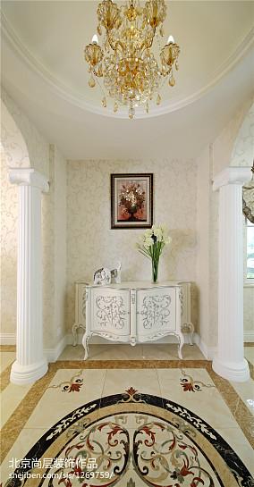精选110平米欧式别墅玄关装饰图片欣赏