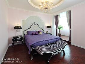 热门120平米欧式别墅卧室装修效果图片欣赏别墅豪宅欧式豪华家装装修案例效果图