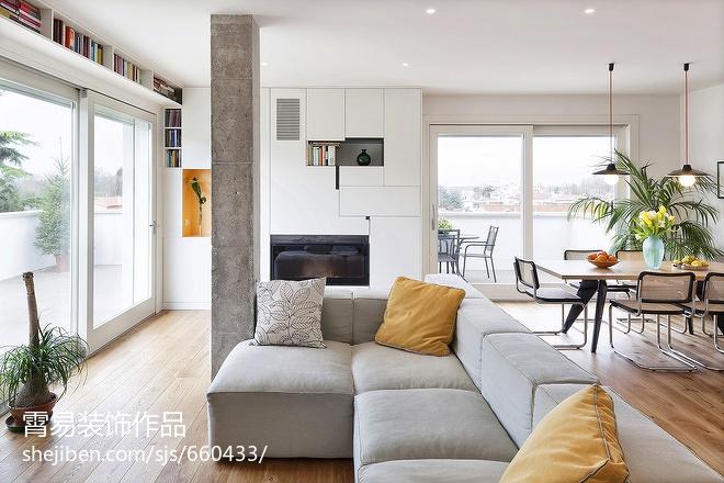 长方形客厅沙发摆放客厅其他客厅设计图片赏析