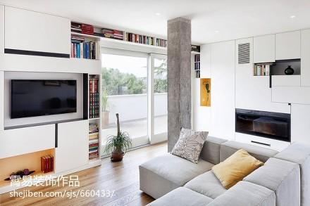 优雅24平小户型客厅装修图