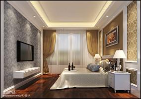 悠雅30平小户型卧室装修设计图