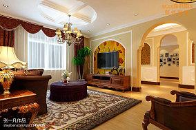 热门东南亚复式客厅装饰图片欣赏