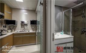 精美84平米二居厨房现代装修设计效果图片