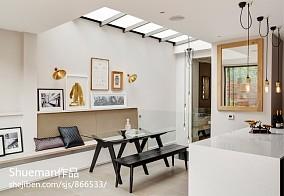 精选142平米现代别墅餐厅装修效果图片欣赏