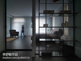 2018精选美式三居书房装修欣赏图片大全