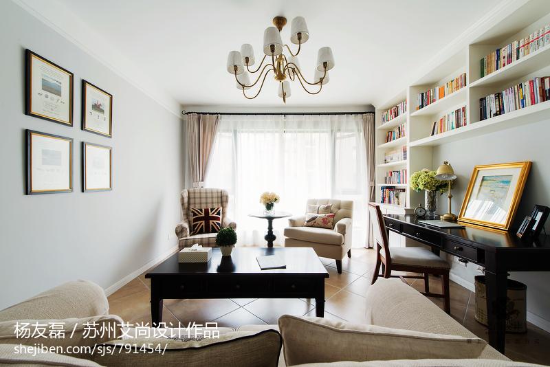 美式风格家居客厅装修图片客厅美式经典客厅设计图片赏析