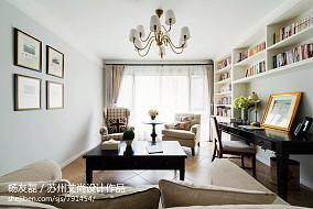 美式风格家居客厅装修图片