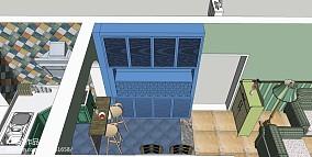 居家感50平米两房一厅图片