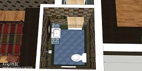 卫生间浴室一体设计