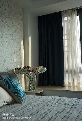96平方三居卧室现代实景图片