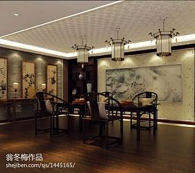 悠雅180平中式别墅客厅装修美图