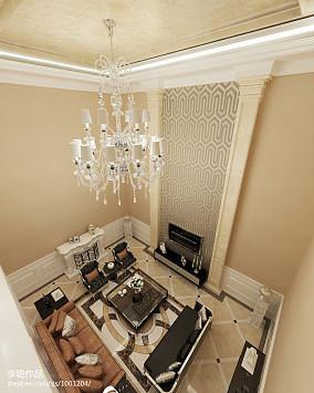 现代新中式客厅装修风格展示