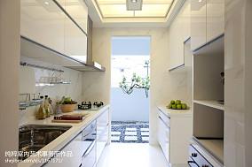 家居白色厨房图片欣赏