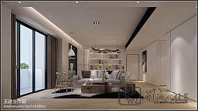 精美105平米三居中式装修实景图片