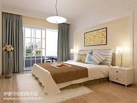 浪漫两室一厅精装房装修图