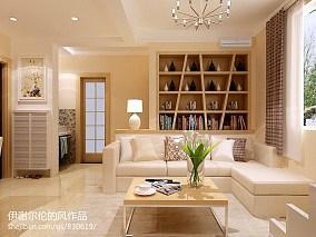 清美两室一厅精装房装修图