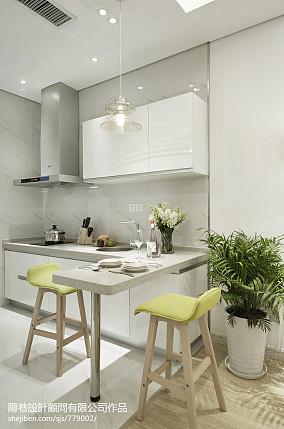 现代风格样板间厨房装修效果图大全样板间潮流混搭家装装修案例效果图