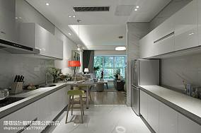现代风格样板间厨房装修效果图大全2017图片样板间潮流混搭家装装修案例效果图