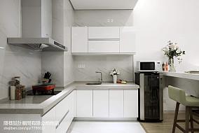 现代风格样板间厨房装修图片餐厅2图潮流混搭设计图片赏析