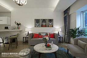 精选休闲区混搭装修欣赏图片样板间潮流混搭家装装修案例效果图