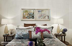 99.5平热门混搭卧室装修效果图片样板间潮流混搭家装装修案例效果图