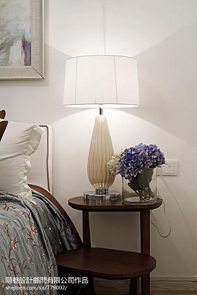 简洁274平混搭样板间卧室实景图片样板间潮流混搭家装装修案例效果图