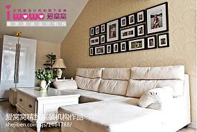 精美小户型客厅欧式装修效果图片