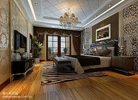 温馨简欧风格卧室装饰效果图