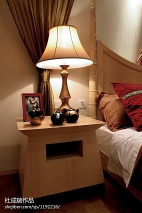 热门面积118平东南亚四居卧室装修效果图片