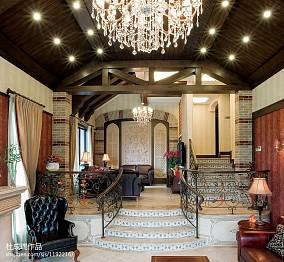 精美面积141平别墅客厅地中海装修欣赏图