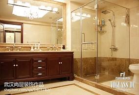 面积111平别墅卫生间新古典装修设计效果图片欣赏