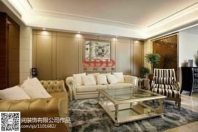 精美面积135平复式客厅现代装修图片